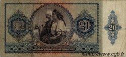 20 Pengö HONGRIE  1941 P.109 B