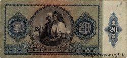 20 Pengö HONGRIE  1941 P.109 TB