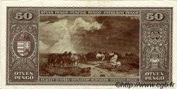 50 Pengö HONGRIE  1945 P.110a SUP