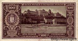 100 Pengö HONGRIE  1945 P.111b TTB