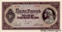 100 Pengö HONGRIE  1945 P.111b pr.NEUF
