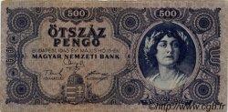 500 Pengö HONGRIE  1945 P.117a TB