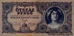 500 Pengö HONGRIE  1945 P.117a TTB