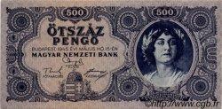 500 Pengö HONGRIE  1945 P.117a SPL