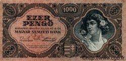 1000 Pengö HONGRIE  1945 P.118a SPL