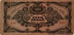 1000 Pengö HONGRIE  1945 P.118b TB