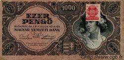 1000 Pengö HONGRIE  1945 P.118b TTB