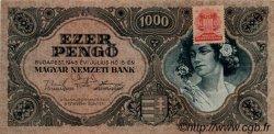 1000 Pengö HONGRIE  1945 P.118b SUP