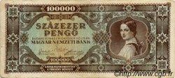 100000 Pengö HONGRIE  1945 P.120a TB+