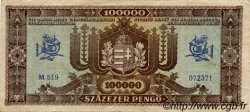 100000 Pengö HONGRIE  1945 P.120a TTB