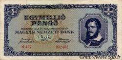 1000000 Pengö HONGRIE  1945 P.122 TTB