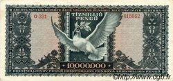 10000000 Pengö HONGRIE  1945 P.123 TTB+