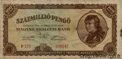 100000000 Pengö HONGRIE  1946 P.124 TB