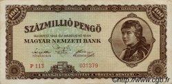 100000000 Pengö HONGRIE  1946 P.124 TTB