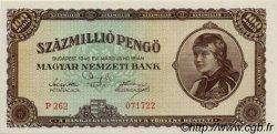 100000000 Pengö HONGRIE  1946 P.124 pr.NEUF