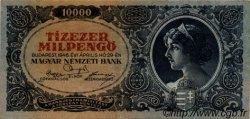 10000 Milpengö HONGRIE  1946 P.126 TTB