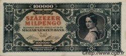 100000 Milpengö HONGRIE  1946 P.127 SUP