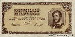 1000000 Milpengö HONGRIE  1946 P.128 TTB