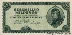 100000000 Milpengö HONGRIE  1946 P.130 NEUF