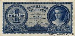 1000000000 Milpengö HONGRIE  1946 P.131 TB+