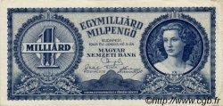 1000000000 Milpengö HONGRIE  1946 P.131 TTB