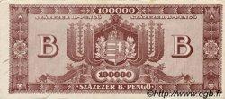 100000 B-Pengö HONGRIE  1946 P.133 TTB
