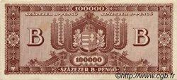 100000 B-Pengö HONGRIE  1946 P.133 SUP