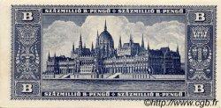 100000000 B-Pengö HONGRIE  1946 P.136 SPL
