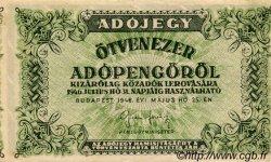 50000 Adopengö HONGRIE  1946 P.138b SUP