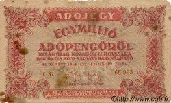1000000 Adopengö HONGRIE  1946 P.140a B+