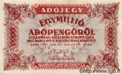1000000 Adopengö HONGRIE  1946 P.140c SPL