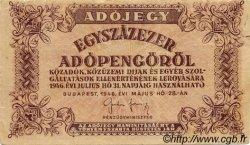 100000 Adopengö HONGRIE  1946 P.144b TTB