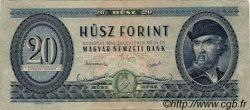 20 Forint HONGRIE  1949 P.165 TB+