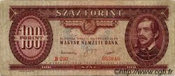 100 Forint HONGRIE  1949 P.166 TB