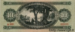 10 Forint HONGRIE  1960 P.168b TB+