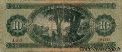 10 Forint HONGRIE  1962 P.168c B+