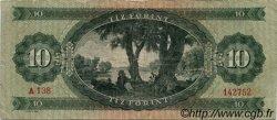 10 Forint HONGRIE  1962 P.168c TB