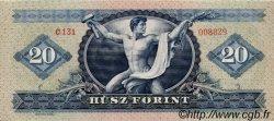 20 Forint HONGRIE  1957 P.169a SPL+