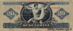 20 Forint HONGRIE  1962 P.169c B+