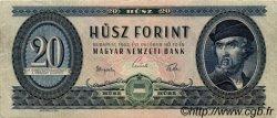 20 Forint HONGRIE  1962 P.169c TTB