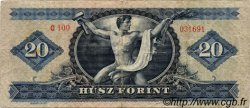 20 Forint HONGRIE  1965 P.169d TB
