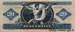 20 Forint HONGRIE  1965 P.169d TTB