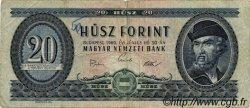 20 Forint HONGRIE  1969 P.169e B+