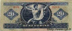 20 Forint HONGRIE  1969 P.169e TB