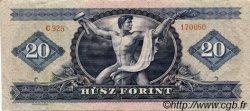 20 Forint HONGRIE  1969 P.169e TTB