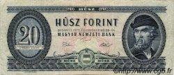 20 Forint HONGRIE  1975 P.169f B à TB