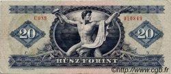 20 Forint HONGRIE  1975 P.169f TTB