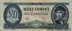 20 Forint HONGRIE  1980 P.169g B à TB