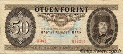 50 Forint HONGRIE  1989 P.170f TB