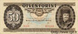 50 Forint HONGRIE  1989 P.170f TTB